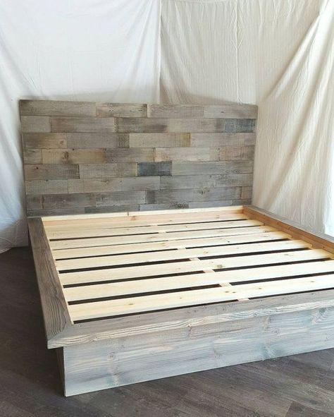 DIY 2x Lumber Bed
