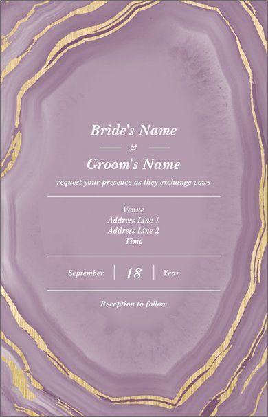 personalized wedding invitations designs