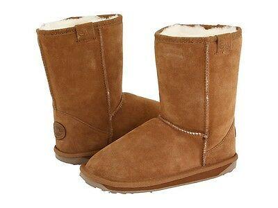 Little Girls Emu Chestnut Low Boots