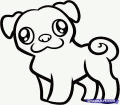 Image Result For Pug Coloring Pages Dibujos Bonitos Dibujos De Pugs Dibujos