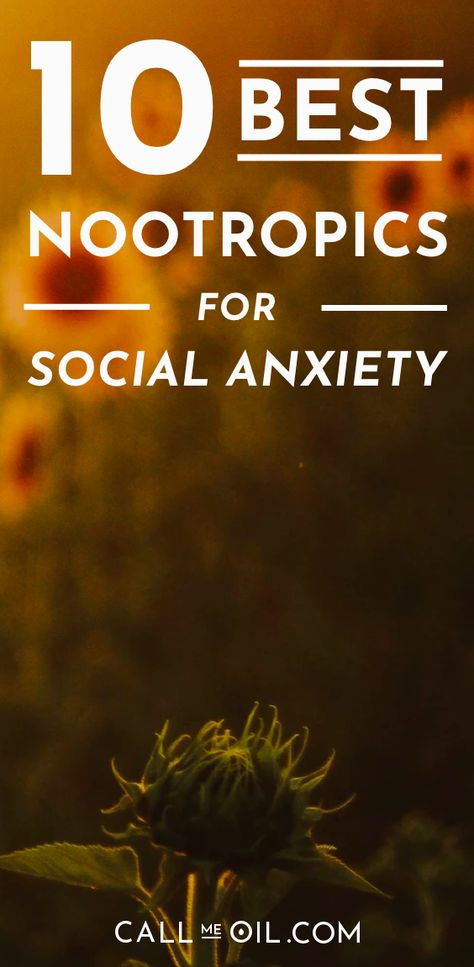 10 Best Nootropics For Social Anxiety Their Reviews Essential