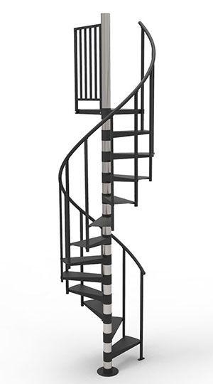 Economy Spiral Staircase Paragon Spiral Staircase Kits Spiral