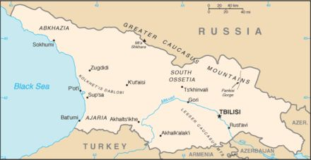Why The World Map Looks Different To Russians South Ossetia - Abkhazia map black sea