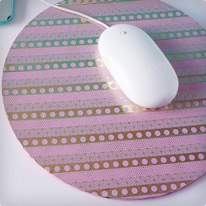 6 Mouse Pads You Can Craft Yourself Using Simple Materials Diy Mouse Pad Crafty Diy Cork Diy