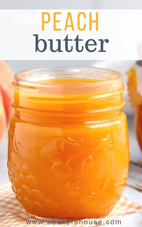Make Peach Butter Easily In The Instant Pot, Crock Pot Or Slow Cooker. Utilize Fresh Peaches Or Frozen Peaches. Include Mangoes If You Wish For This Smooth And Creamy Fruit Spread. Fruit Recipes, Canning Peach Recipes, Peach Jam Recipes, Peach Jelly Recipe Canning, Mango Salsa Canning Recipe, Recipes With Fresh Peaches, Peach Jam Recipe Without Pectin, Peach Preserves Recipe, Pressure Canning Recipes