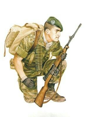 2°REP FRENCH FOREIGN LEGION ALGERIA