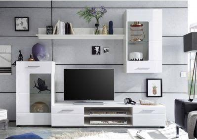 Wohnzimmerschrank Weiss Hochglanz In 2020 Furniture House