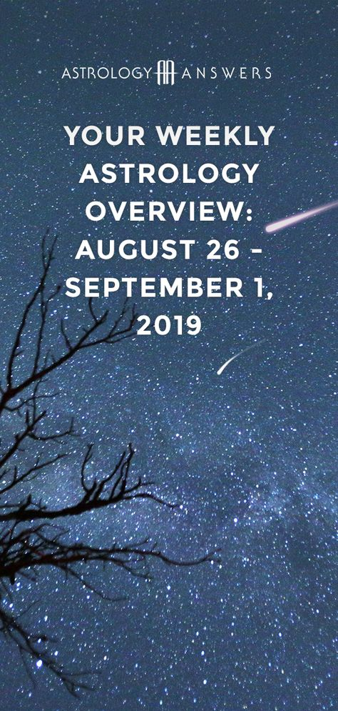 It's the final countdown to Fall. #astrology #weeklyastrology #horoscopes