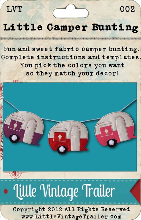 Little Camper Bunting