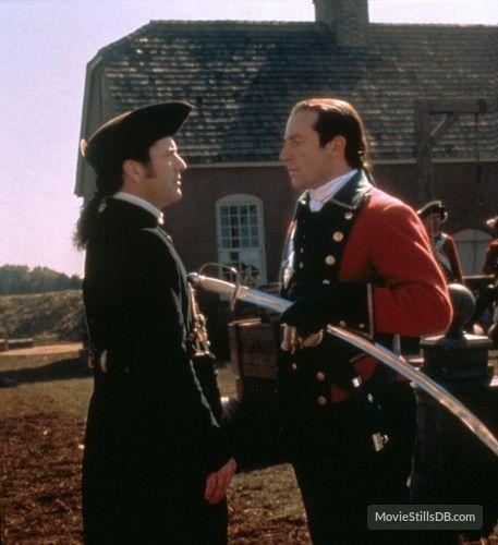 The Patriot - Publicity still of Mel Gibson & Jason Isaacs