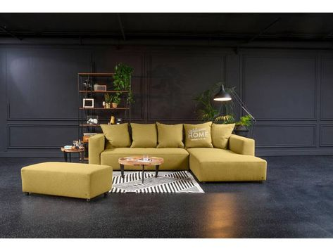 Tom Tailor Eck Sofa Heaven Casual Xl Gelb Komfortabler Federkern In 2020 Outdoor Sectional Home Decor Sectional Sofa