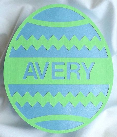 Easter egg shaped box egg boxes cutting files and easter negle Images