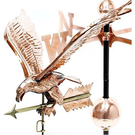 Aigle en cuivre weathervane