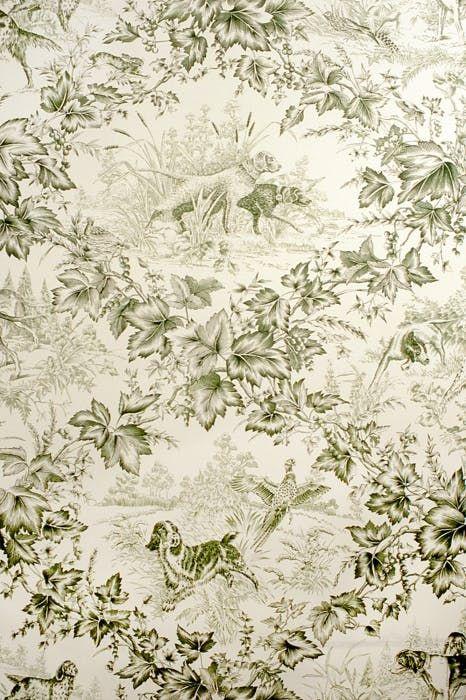 On Point Hunter Kravet Rustic Wallpaper Dog Wallpaper Hunting Decor