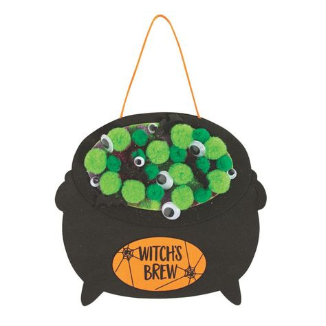 Double, double toil and trouble. Fire burn and crafty cauldron bubble! That's right, this project is the perfect pick for your little witches. Halloween Activities For Kids, Halloween Projects, Halloween Kids, Couple Halloween, Toddler Crafts, Preschool Crafts, Kids Crafts, Ninja Turtle Pumpkin, Witch Signs