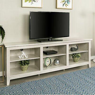 Delacora We Bd70csp 70 W Laminate And Wood Tv Stand In 2020 Tv Stand Wood Tv Stand Entertainment Unit