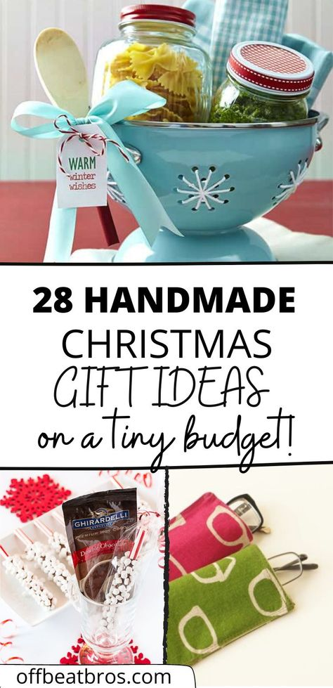28 Cheap and Easy DIY Christmas Gift Ideas That Looks Expensive
