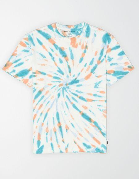Ae Vintage Wash Tie Dye T Shirt Tie Dye Diy Bleach Tie Dye Tie Dye Patterns Tutorials