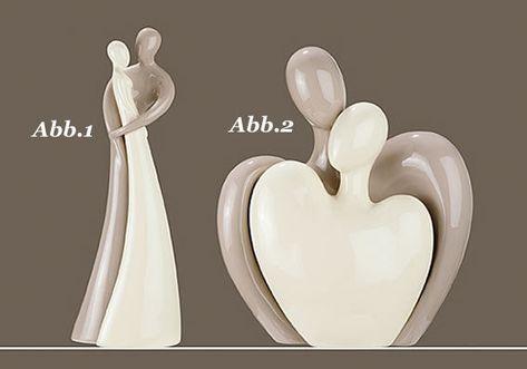 Gilde-Skulptur-Francis-Paar-die-Umarmung-2-tlg-Abb-1-40cm