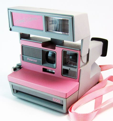 Rare Vintage Polaroid Pink Cool Cam Instant Camera by smilehood
