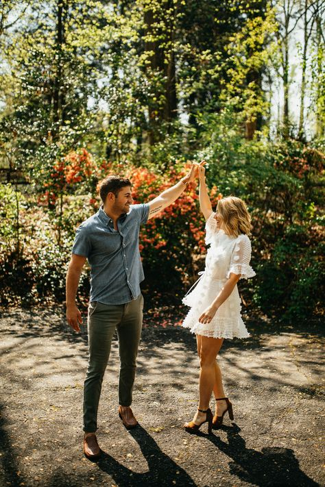 Spring Atlanta Georgia Engagement Photos | DJ & Emily — Christina & Jeremiah