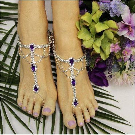 1092281c5eab0 SOMETHING PURPLE barefoot sandals - amethyst in 2019