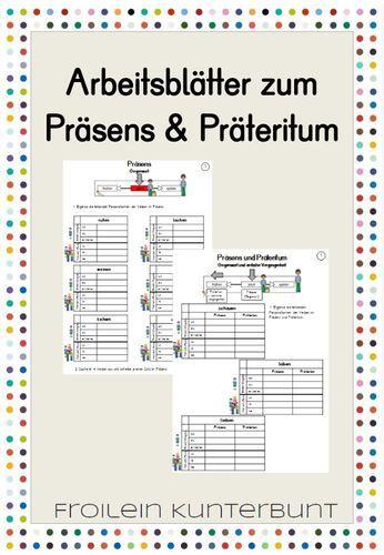 Arbeitsblatter Prasens Prateritum Unterrichtsmaterial Im Fach Deutsch Lernen Tipps Schule Deutsch Unterricht Text Auf Deutsch