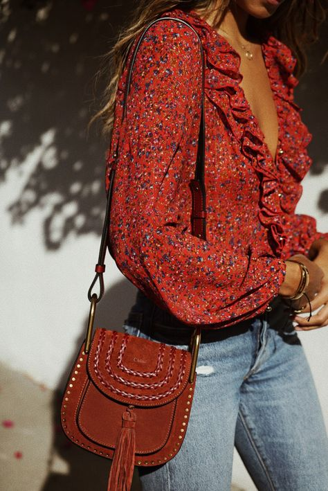 Floral is In.  #outfits #outfitoftheday #outfitideas #outfitsfashion #outfit #floral #red #fashion #woman #womensfashion #womens #womenswear