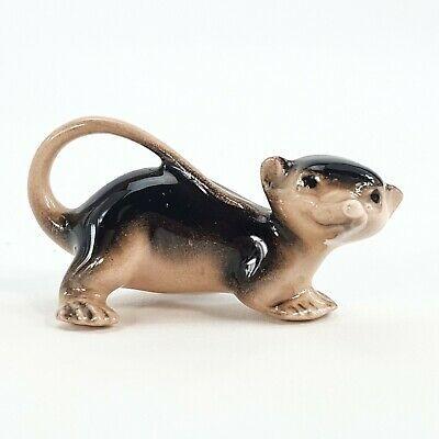 Vintage Hagen Renaker Miniature Figurine Opossum Possum Weasel Bandicoot Animal Miniature Figurines Bandicoot Opossum