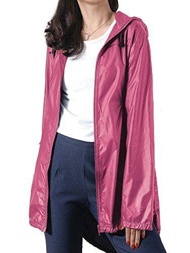 Manteau impermeable РіВ capuche femme