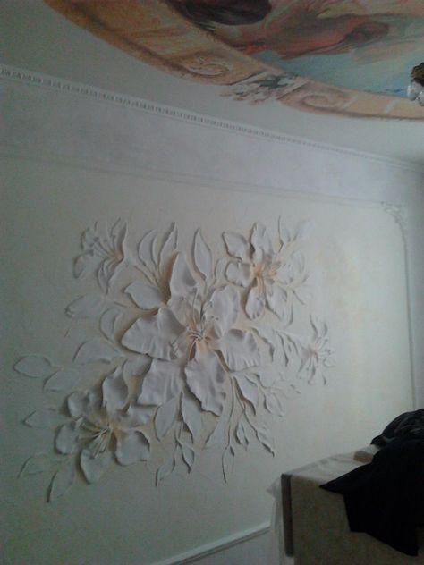 Pared decoración en relieve relief ttrovingsl para hormigón yeso regar g063