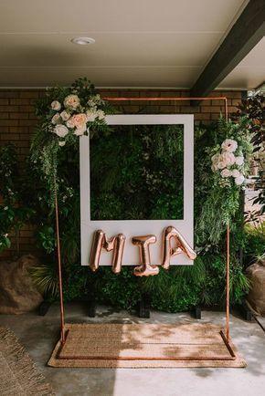 Mia S Rose Gold Garden Party Hooray Mag Gardenparties