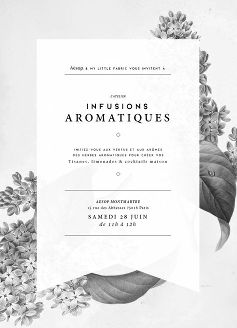 Infusions Aromatiques