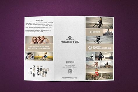 Photography Studio Brochure  Card By Creative Shop On