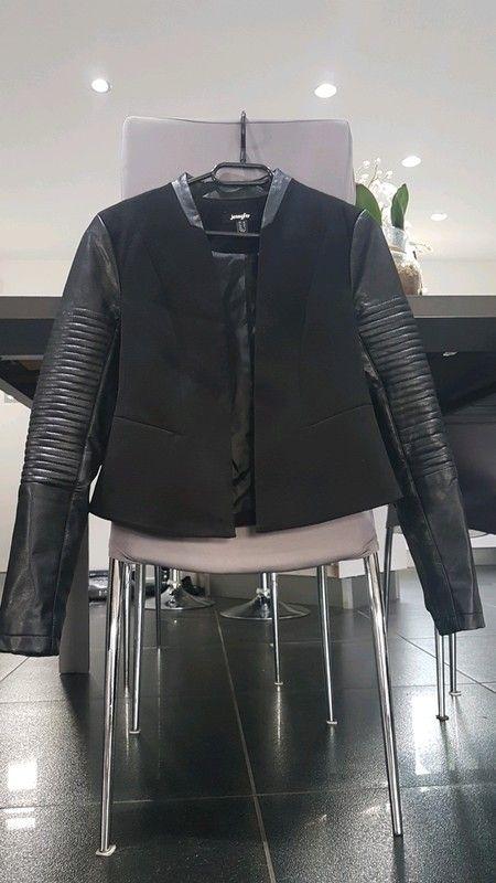 4392c18592 Veste blazer perfecto noir Jennifer taille XS 34 | Vente | Veste ...