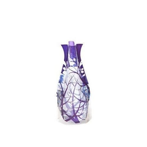Durable Plastic Colorful Flower Vase Foldable Collapsible and Expandable Purple #ModgyVases  sc 1 st  Pinterest & Durable Plastic Colorful Flower Vase Foldable Collapsible and ...