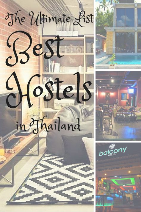 Best Hostels in Thailand http://fancytemplestore.com