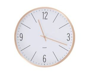 Degree 35cm Clock Copper | Officeworks | Lasoo Online