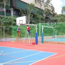 Gym Divider Curtains Sports Gym And Field Netting Supplier