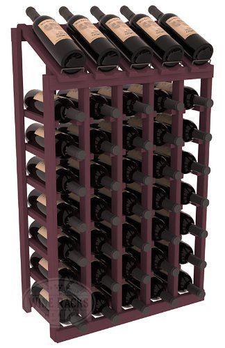 Cheap Wine Racks America Ponderosa Pine 5 Column 8 Row Display Top Kit 13 Stains To Choose From Https Portab Wine Rack Bottle Display Rack Cheap Wine Racks