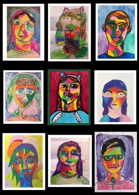 Art Room Britt Alexej Jawlensky German Expressionism Portraits German Expressionism Expressionist Portrait Expressionism Painting