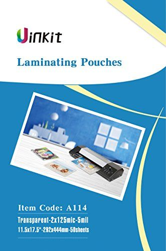 Hot Thermal Laminating Pouches 5mil 115x175 Inches For Sealed 11x17 Photo 50 Sheets 115x175 Inches Pack Uinkit 24 Hou 24 Hour Service Craft Supplies Thermal