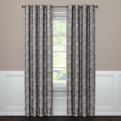 Blackout Curtain Panel Modern Stroke Project 62 Light