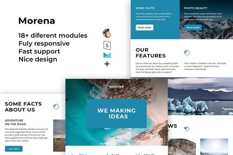 Morena – Responsive Email template
