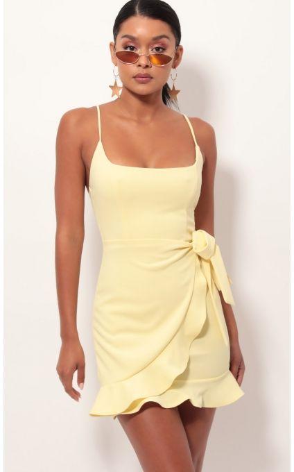 45+ Light yellow dress info