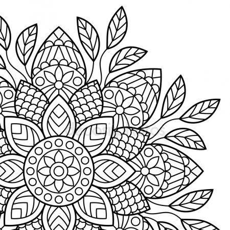 Mandala Dibujos Para Colorear Libro Mandala Coloring Books Mandala Coloring Mandala Coloring Pages
