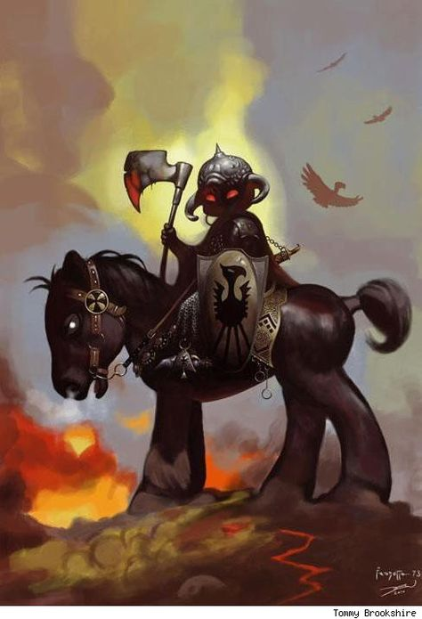 Death Dealer / My Little Pony mashup by Tommy Brookshire
