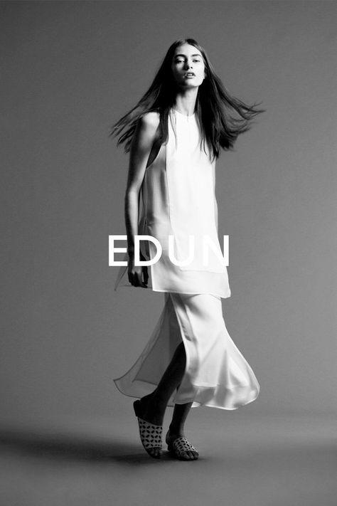edun spring 2014 campaign3 Marine Deeleuw Stars in the Edun Spring/Summer 2014 Campaign