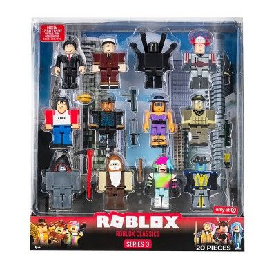 Get Free Shipping From Target Read Reviews And Buy Roblox Classics Figure 12pk At Target Get It Today With Same Day De Roblox Roblox Roblox Minnie Mouse Toys