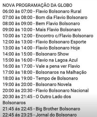 Nova Grade De Programacao Da Globo Choca Telespectadores Programacao Globo Nova
